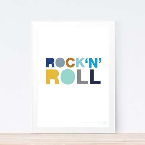'Rock n Roll' art print