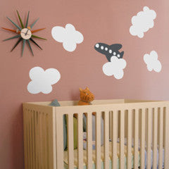 re-stik cloud wall decal