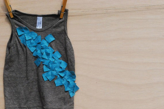 sea glass tank / singlet top