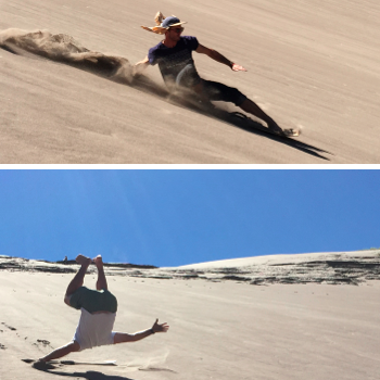 SURFING THE GREAT SAND DUNES