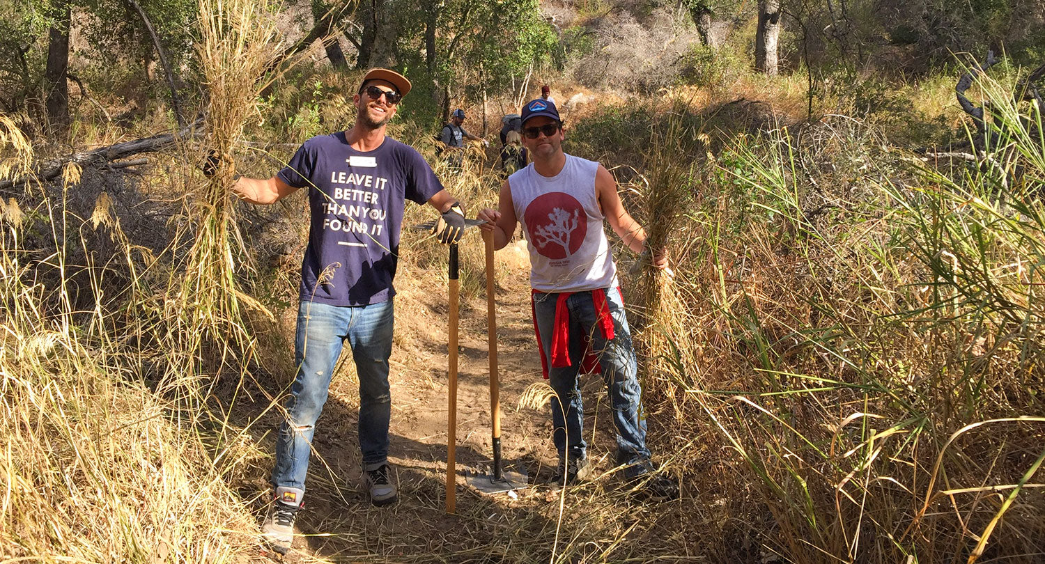 Hitting the trail with Loyola Marymount University, ThinkLA, and the Sierra Club
