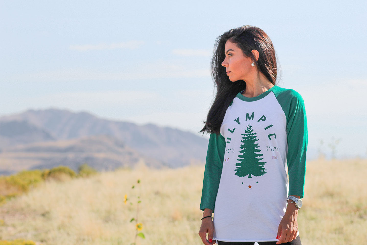 Olympic Raglan Tee | Parks Project | National Park Gift Guide