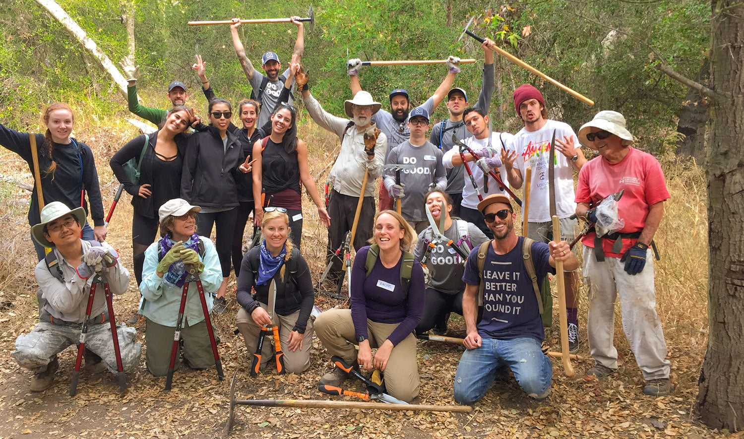 Parks Project Volunteer Day with Loyola Marymount University, ThinkLA, & Sierra Club