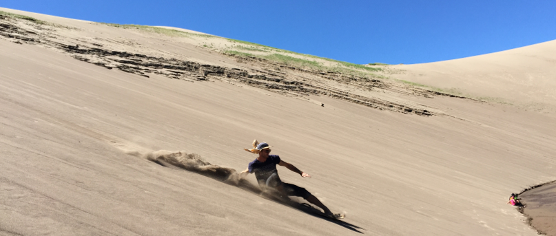 Surfing The Great Sand Dunes Parks Project