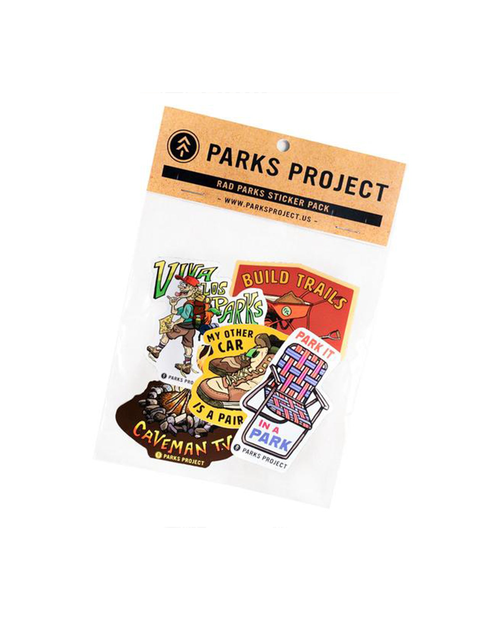Rad Parks Sticker Pack | Parks Project | National Park Stickers
