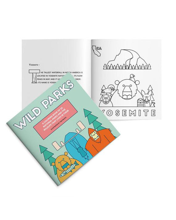 Wild Parks Coloring Book | National Park Coloring Book | Parks Project