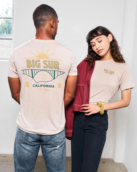 Big Sur Sunrise Tee | Parks Project | Outdoor National Park Shirts
