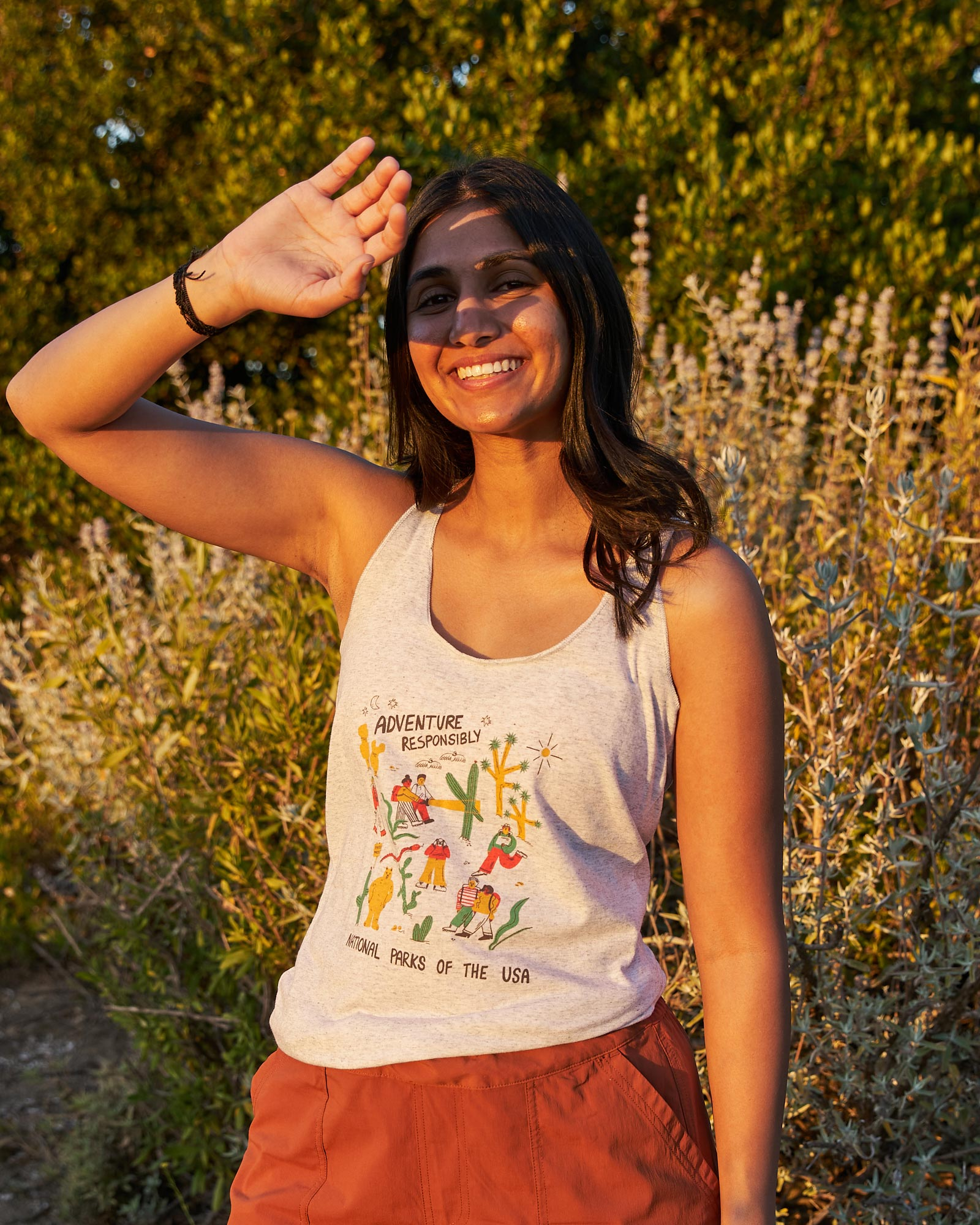 Adventure Responsibly Racerback Tank | Parks Project | National Park Tank