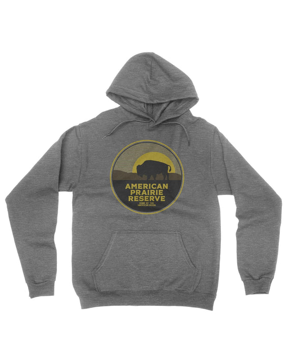 American Prairie Reserve Bison Hoodie | Parks Project | National Park Shirts