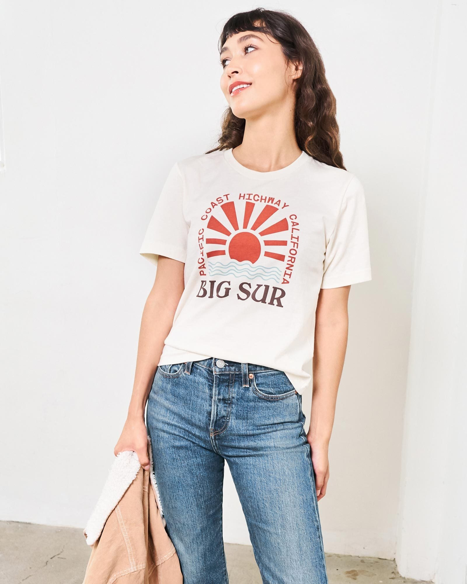 Big Sur PCH Relaxed Women's Tee | Parks Project | National Parks Shirts for Women