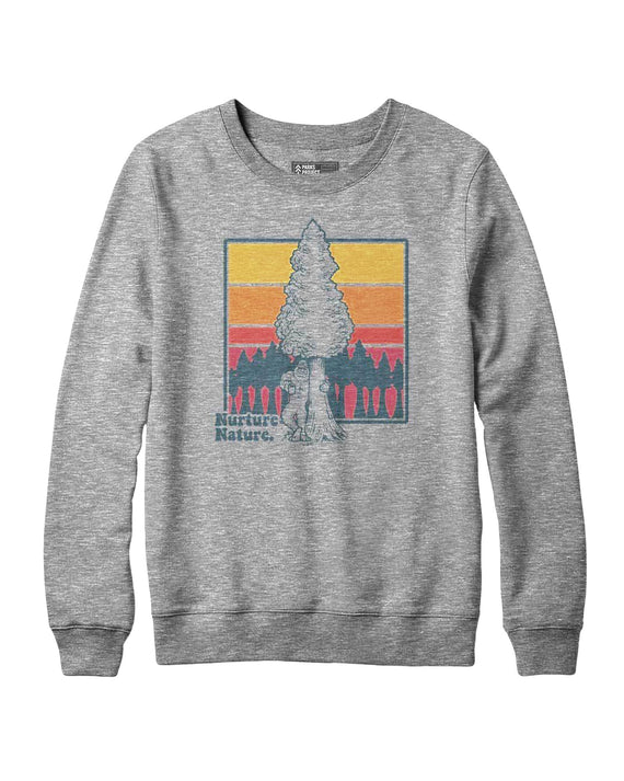 Bigfoot Nurture Nature Crew Sweatshirt | Parks Project | National Park Sweatshirts