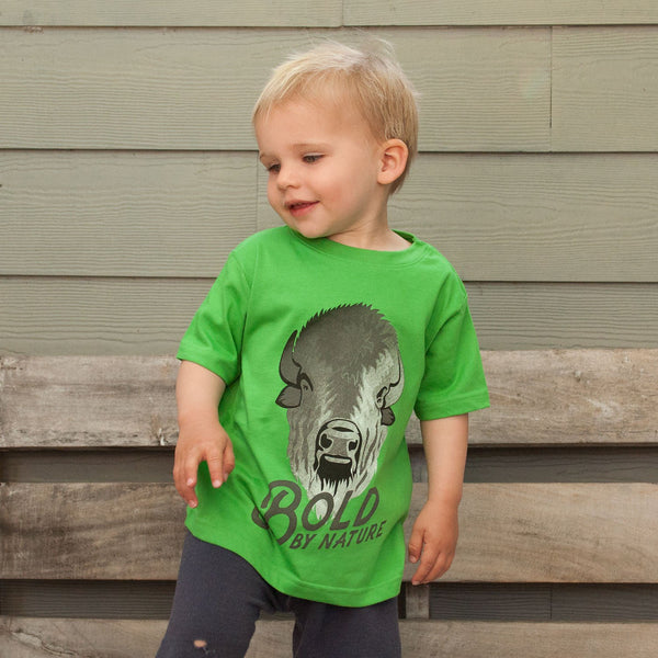 Bold By Nature Kids Bison National Park Tee | Parks Project | Kids National Park Tees