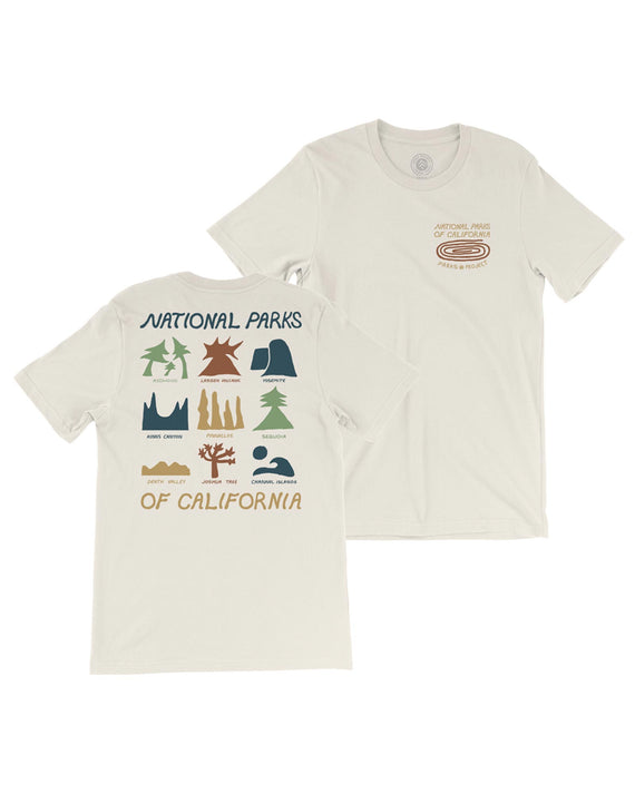 Cali Parks Icons Tee | Parks Project | National Park T-Shirt