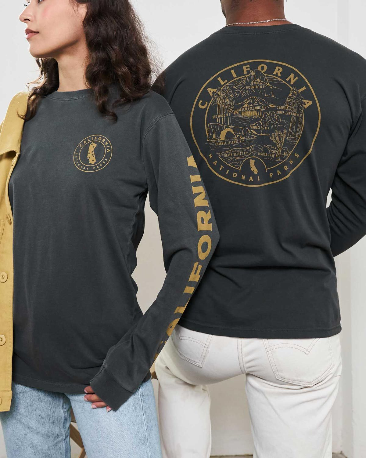 California All Parks Roundup Long Sleeve Tee