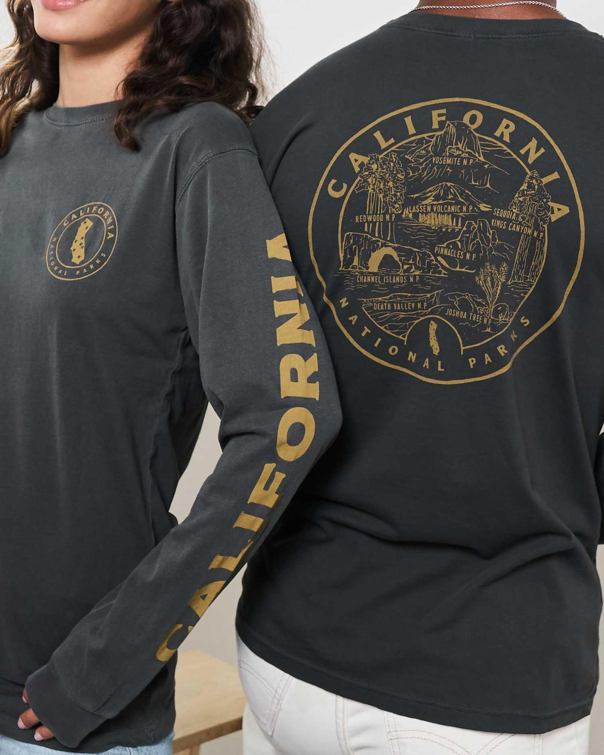 California All Parks Roundup Long Sleeve Tee | Parks Project | National Park Shirts