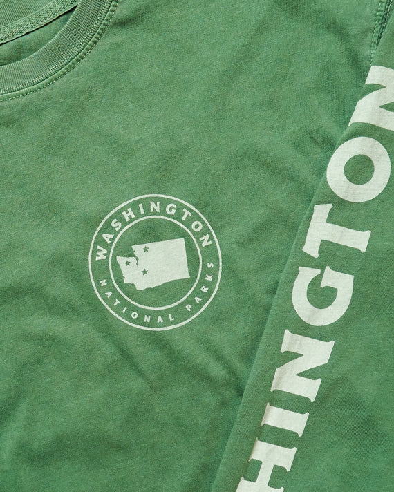 Washington All Parks Roundup Long Sleeve Tee | Parks Project | National Park Shirts