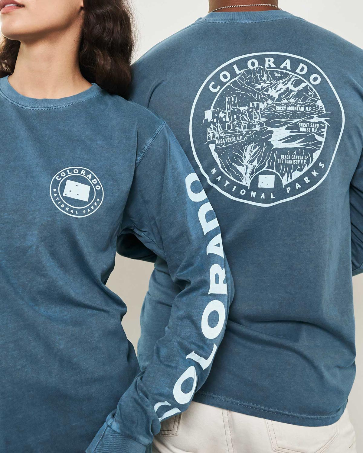 Colorado All Parks Roundup Long Sleeve Tee