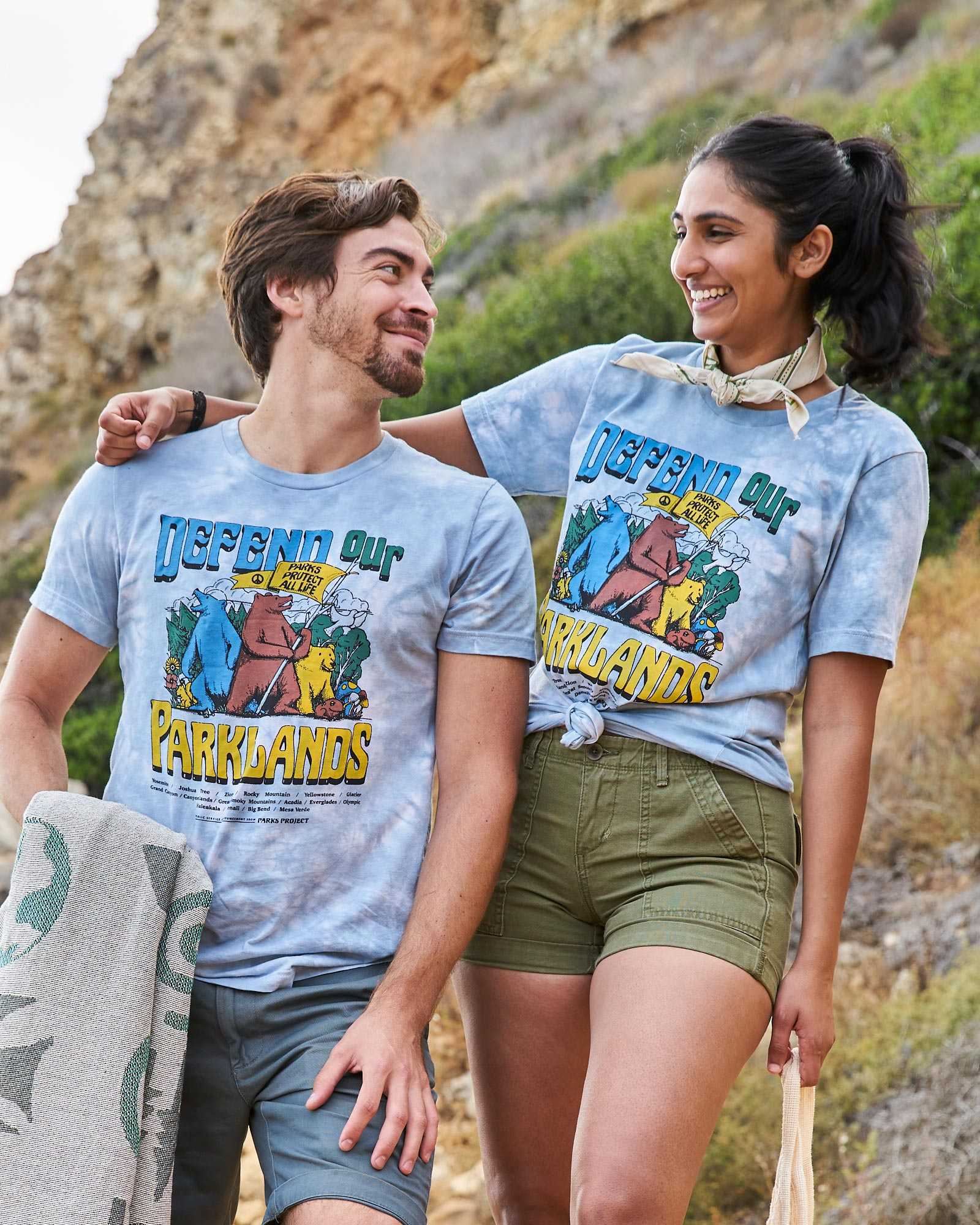 Crew of Defenders Tie Dye Tee | Parks Project | National Park Tee
