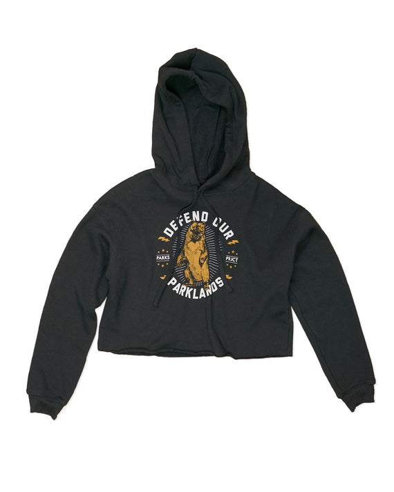 Defend our Parklands Crop Hoodie | Parks Project | National Parks Hoodie