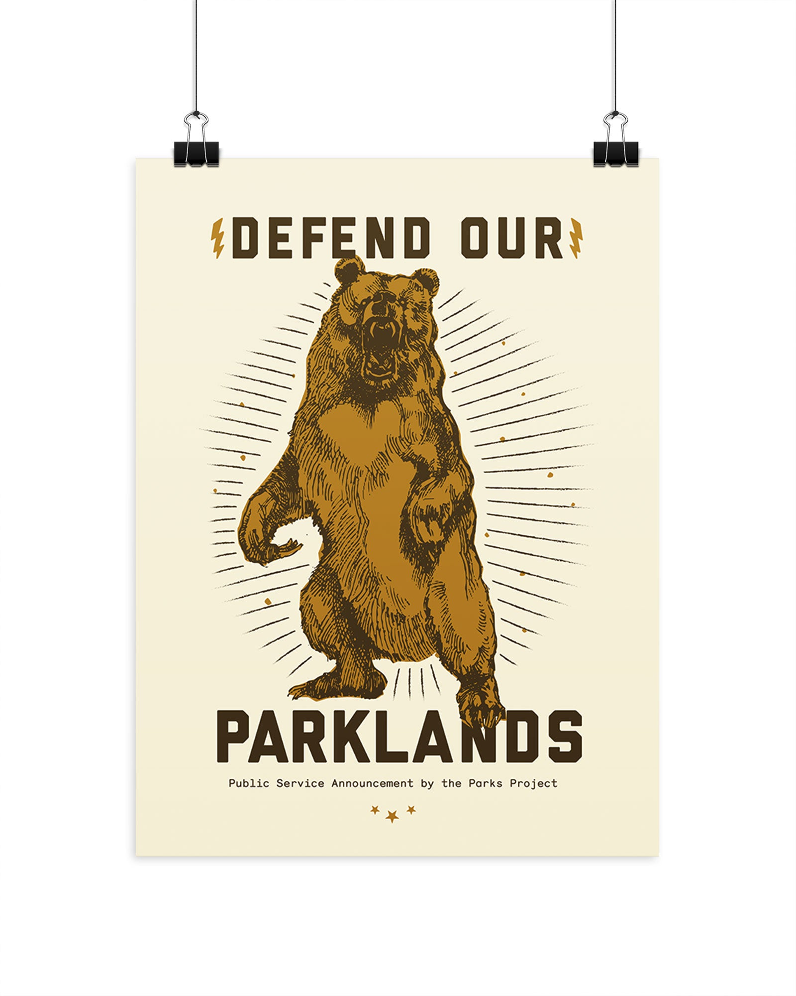 Defend Our Parklands Poster | Parks Project | National Park Posters