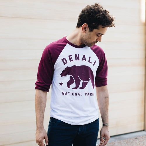 Denali National Park Bear Raglan | Parks Project | National Parks Apparel