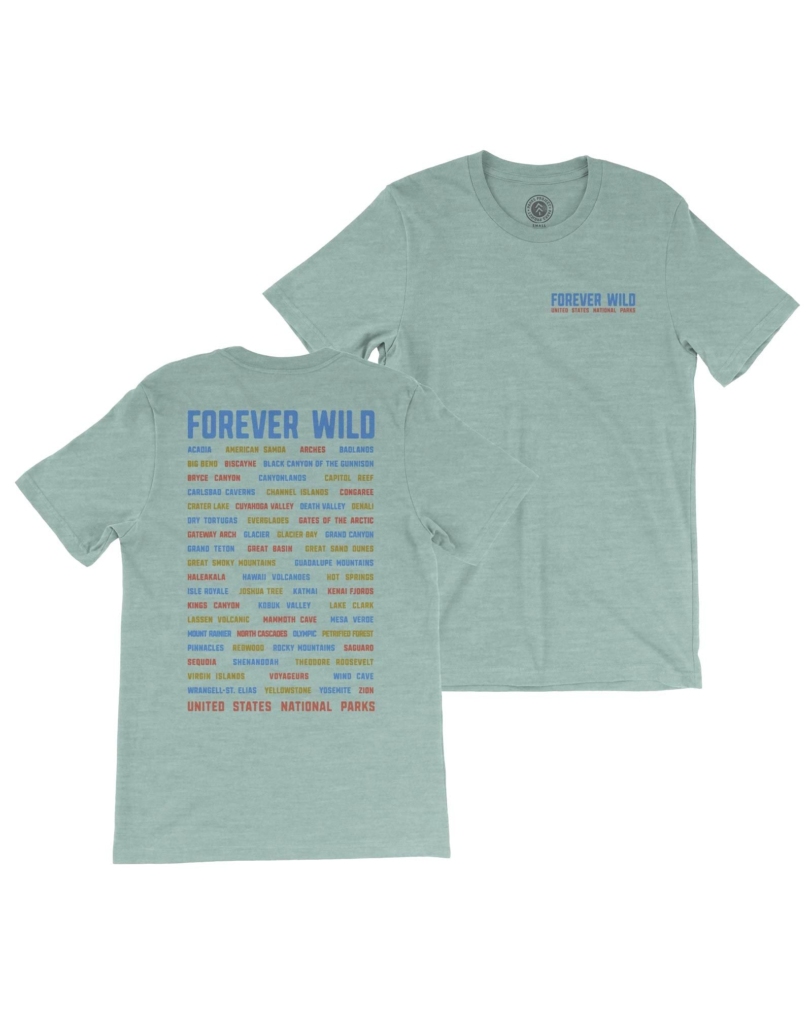 Forever Wild All Parks Tee | Parks Project | National Parks Shirts