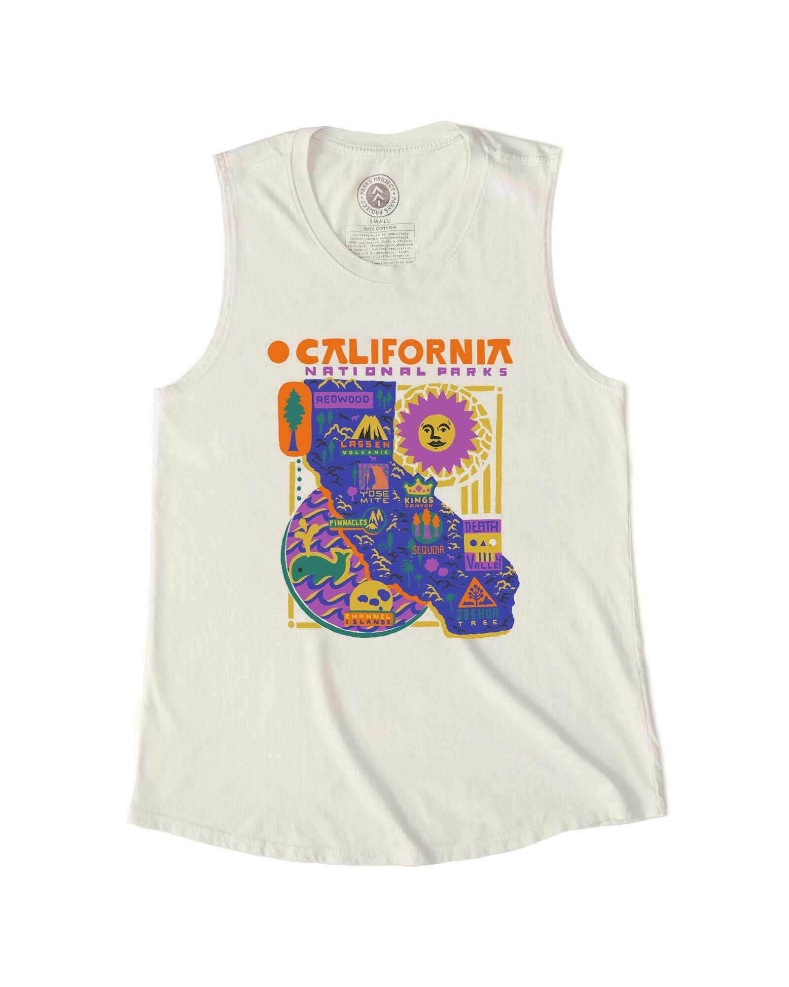Funky California Parks Sleeveless Tank | Parks Project | National Park Tank