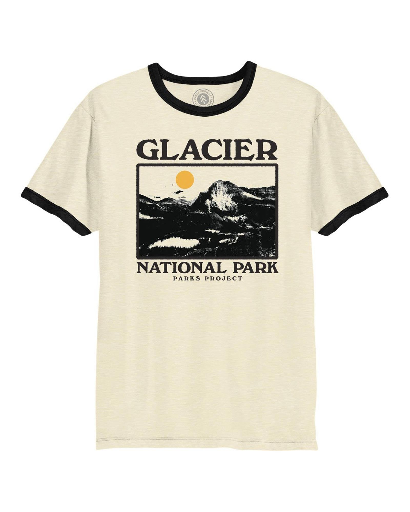 Glacier Photo Ringer Tee | Parks Project | National Park Vintage Ringers