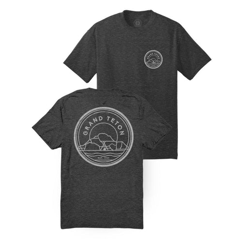 Grand Teton National Park Mountains Outlines Tee | Parks Project | National Park Tees