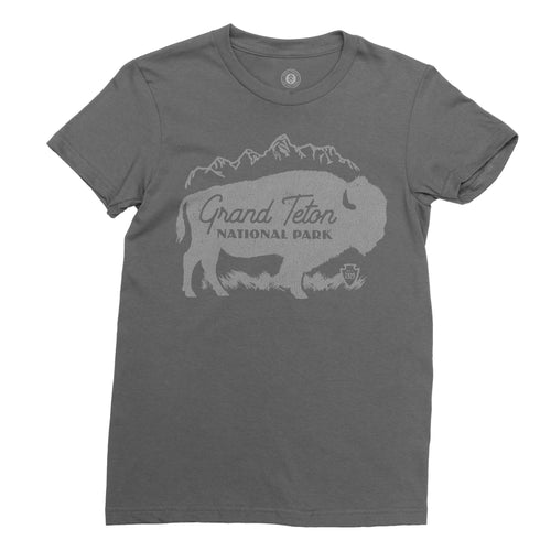 Grand Teton Buffalo Women's Tee | Parks Project | National Park T-Shirt