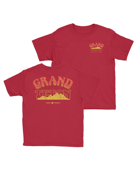 Grand Teton Range Youth Tee | Parks Project | National Park Kids