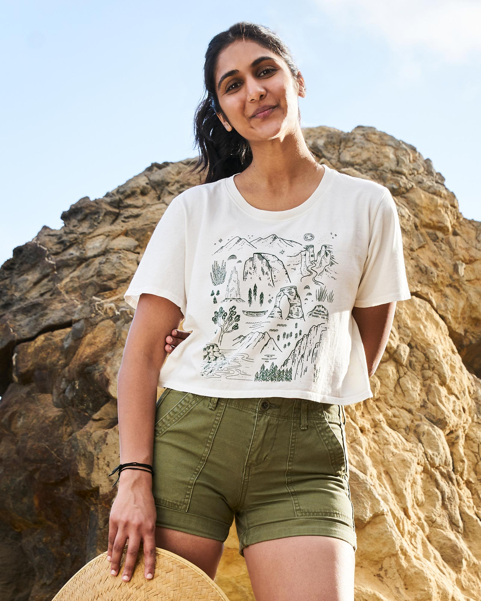 Iconic National Parks Women's Boxy Tee | Parks Project | National Park Tee