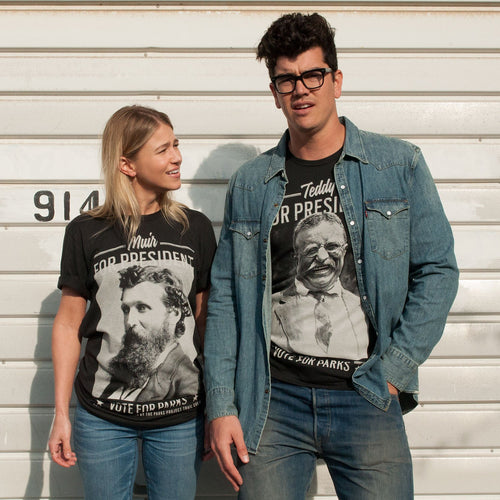 John Muir for President Tee | Parks Project | National Park T-Shirt