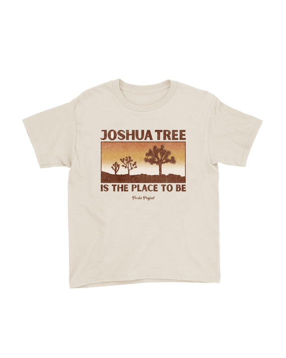Joshua Tree Place To Be Kids Tee | Parks Project | National Park Kids