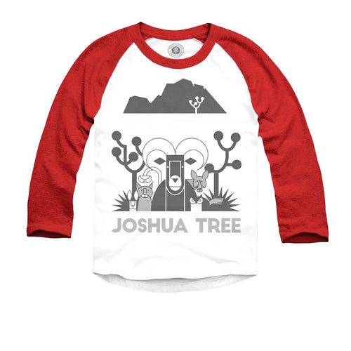 Joshua Tree National Park Kids Raglan Tee | Parks Project | National Parks T Shirt