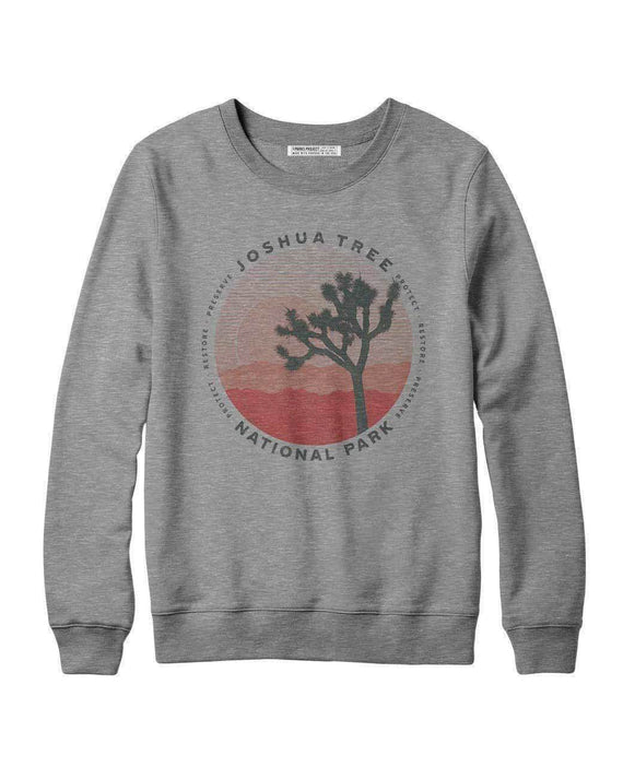Joshua Tree National Park Layers Sweatshirt | Parks Project | National Parks Shirts