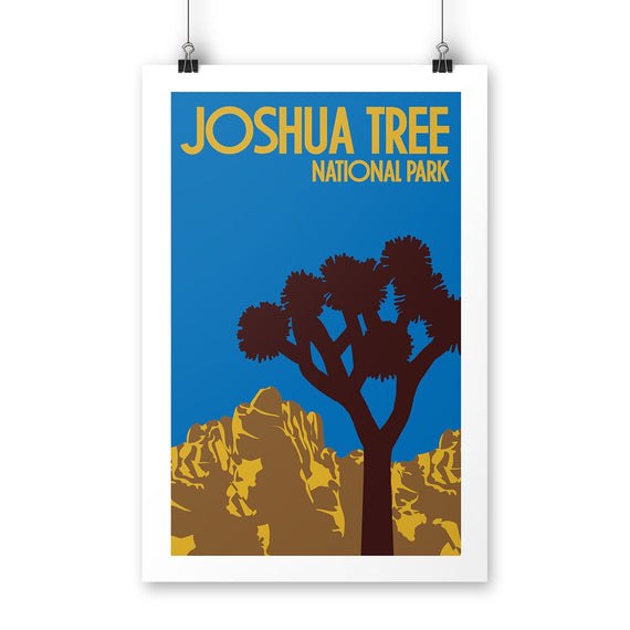 Joshua Tree National Park Poster | Parks Project | National Park Posters
