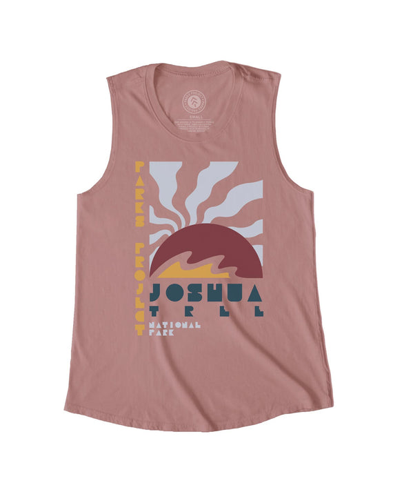 Joshua Tree Rising Sun Sleeveless Tank | Parks Project | National Park Tank