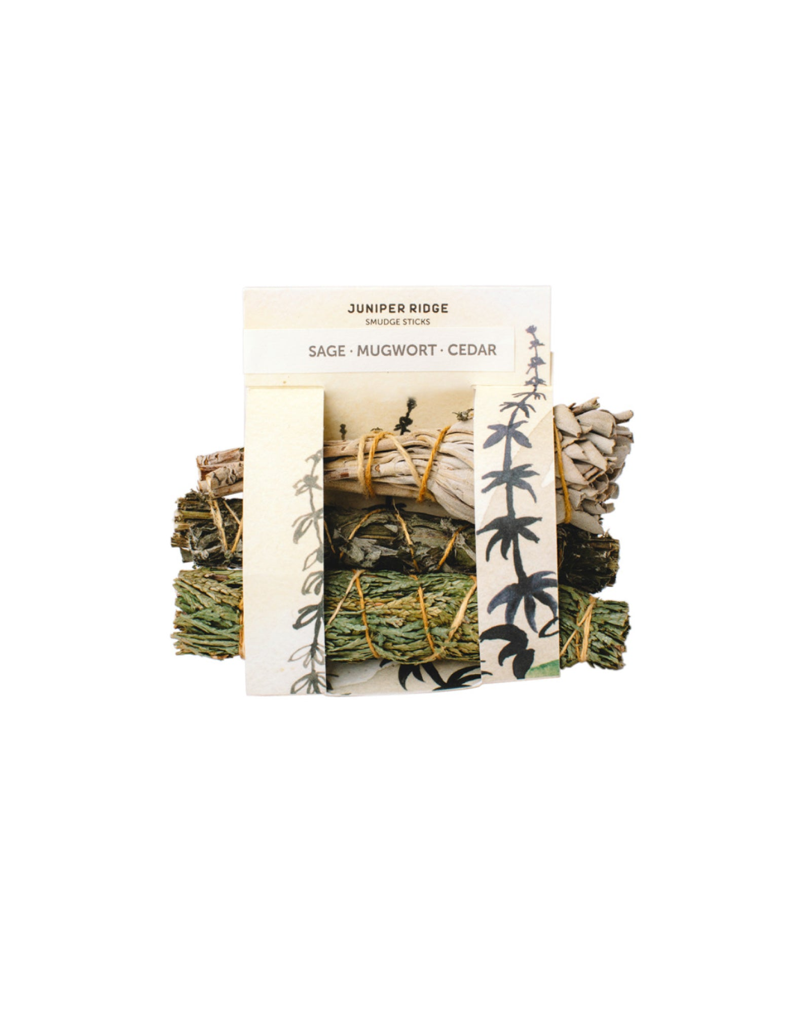 Sage, Mugwort + Cedar Bundle | Parks Project | National Parks Gift