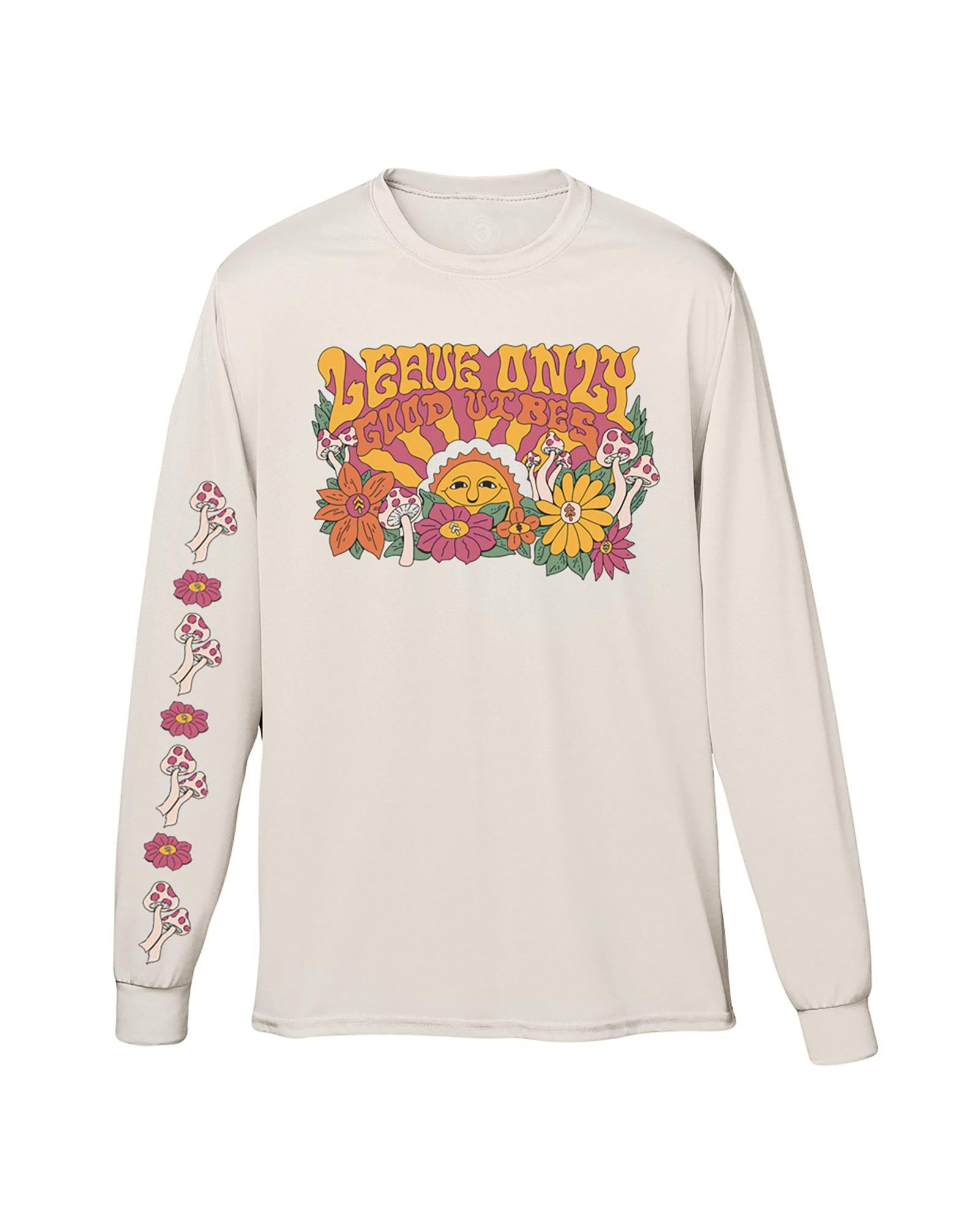 Leave Only Good Vibes Long Sleeve Tee | Parks Project | National Park Long Sleeve