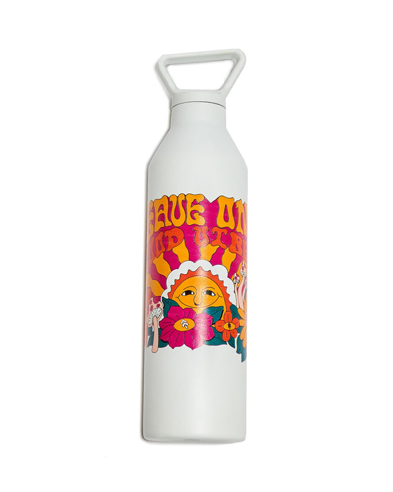 Leave Only Good Vibes Water Bottle
