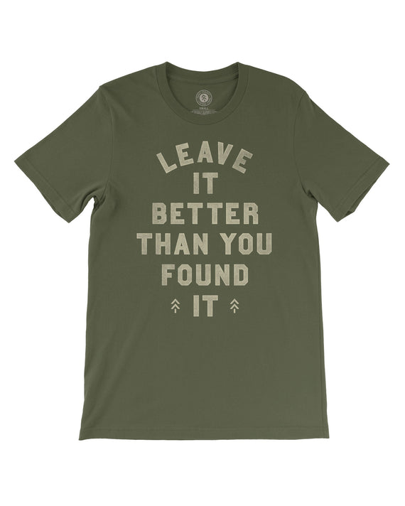 Leave it Better Stamped Tee | Parks Project | National Park Shirts