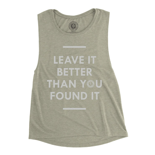 Leave it Better Sleeveless Tank | Parks Project | National Parks Apparel