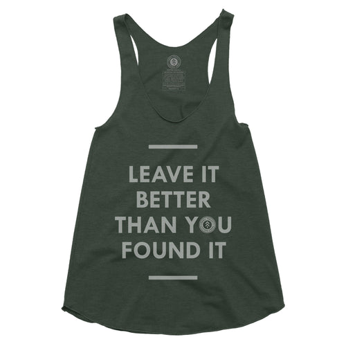 Leave it Better Racerback Tank | Parks Project | National Parks Tank