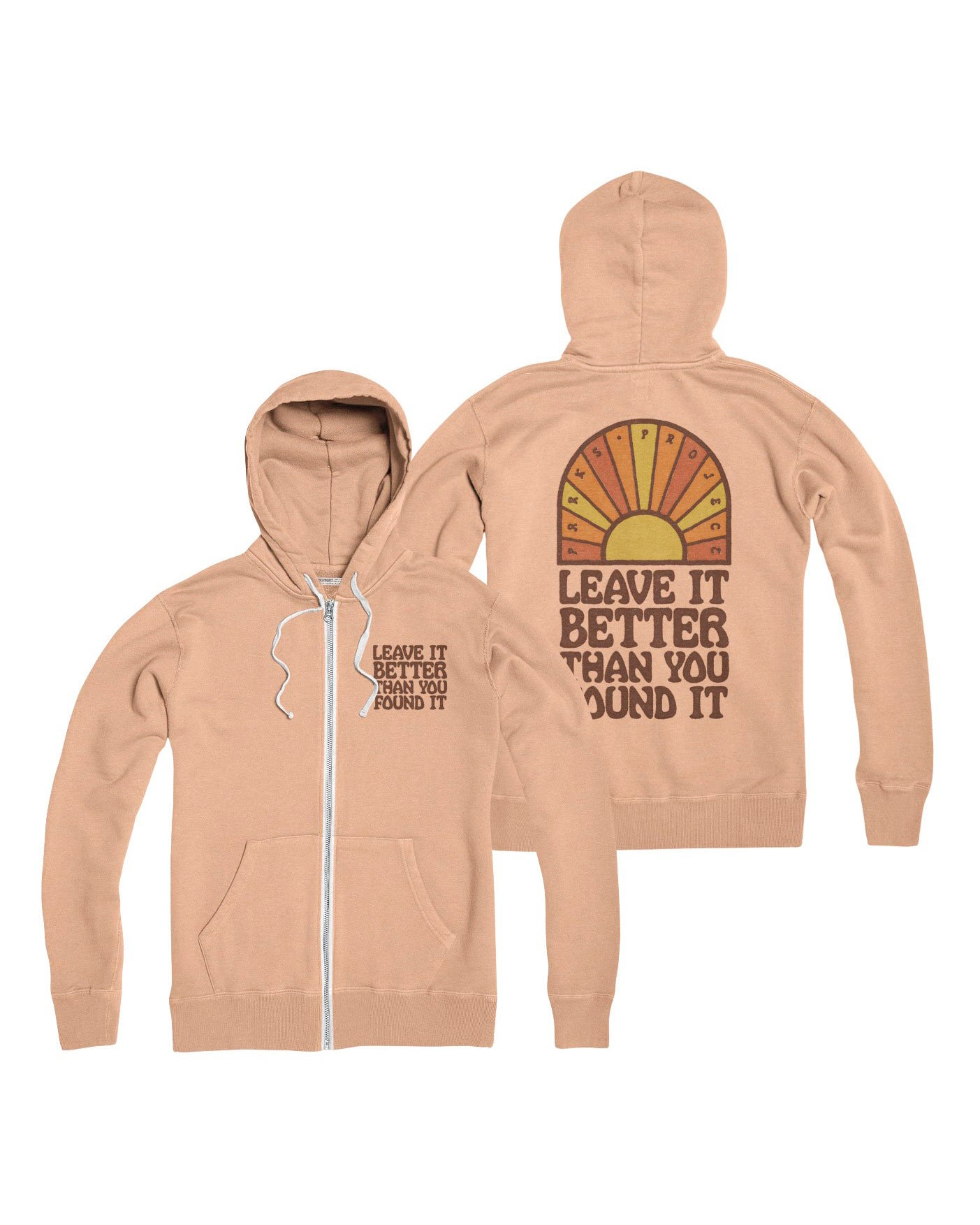 Leave it Better Sunrise Zip Hoodie | Parks Project | National Parks Apparel
