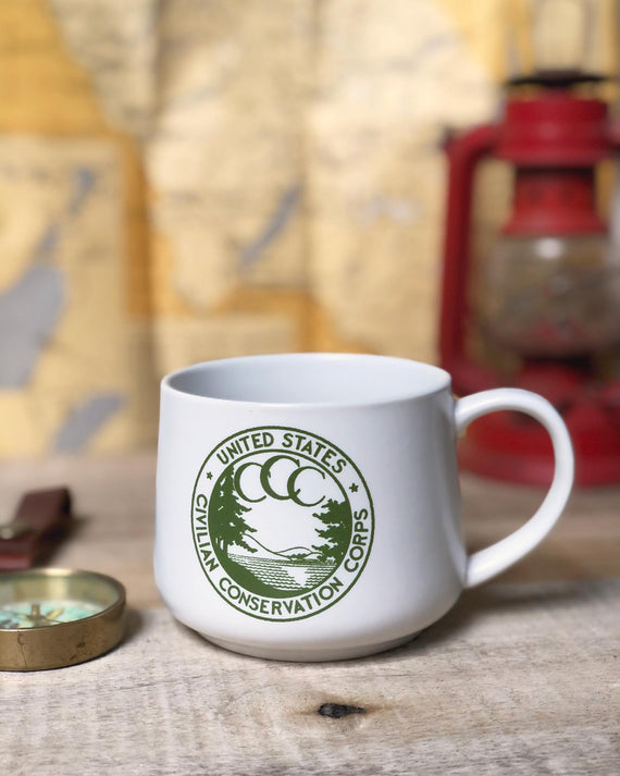 CCC Vintage Mug | Parks Project | National Parks Mugs