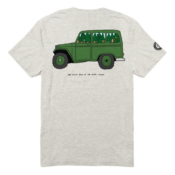 Radtruck in Muir Woods Tee | Parks Project | National Parks T-Shirt