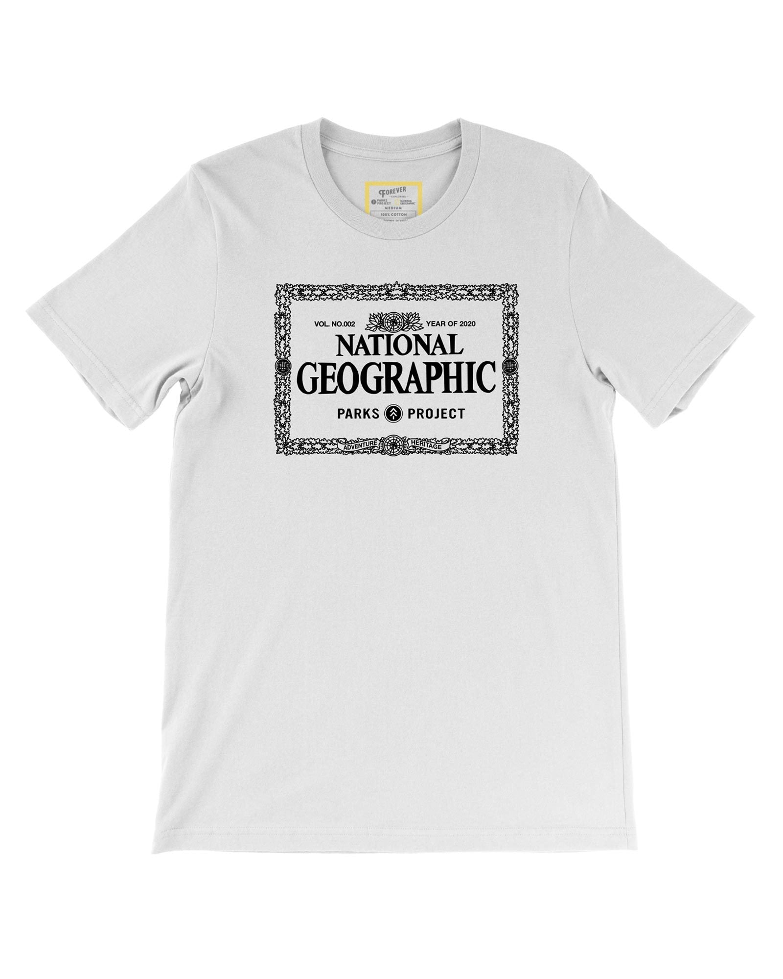 National Geographic x Parks Project Legacy Border Tee | Parks Project | National Park Tee