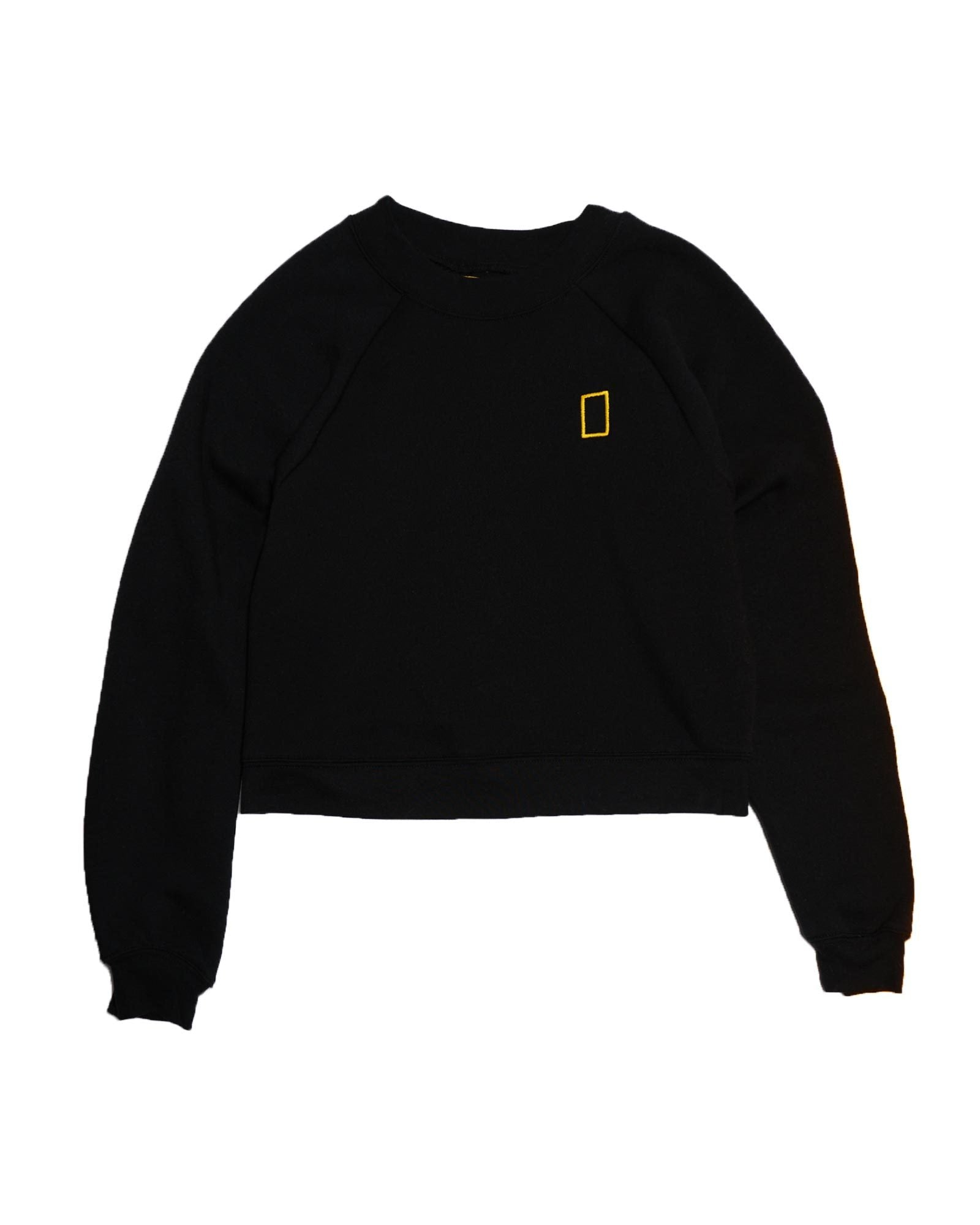 National Geographic x Parks Project Womens Cropped Logo Crew Sweatshirt | Parks Project | National Park Fleece