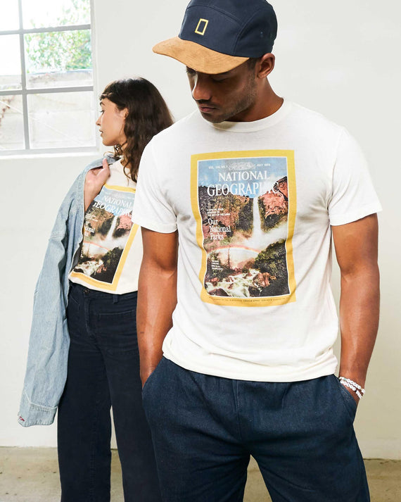National Geographic x Parks Project Vintage Magazine Cover Tee | Parks Project | Nat Geo Forever Exploring Capsule